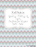 Editable Reading, Writing, & Math Conference Binder and Forms ~ Zig Zag