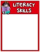 Editable Reading and Math Unit Focus Wall