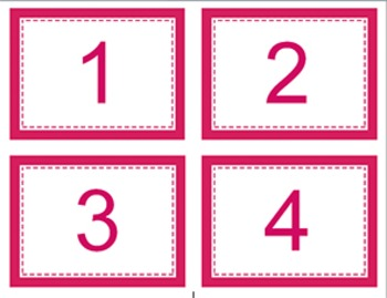 {Editable} Rectangle Classroom Labels ~ 6 color choices