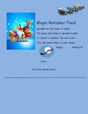 Reindeer Food Poem
