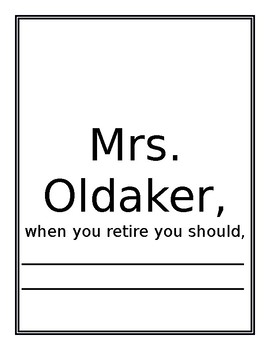 Editable Retirement Suggestions from Students