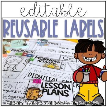 Editable Reusable Sub Labels