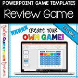 Editable Review Game Powerpoint Game Template