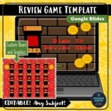 Editable Review Game Template Risk It Google Slides Any Subject or Grade