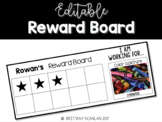 Editable Reward Board / behavior management / classroom ma