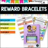 Brag Bracelets- editable- Ideal for Behavior Management
