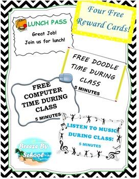 Editable Reward Cards