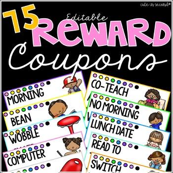 Editable Reward Coupons Bundle