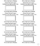Editable Reward Coupon/Scratcher Template
