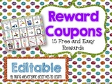 Editable Reward Coupons