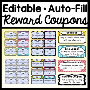 Coupon Template Worksheets Teaching Resources Tpt