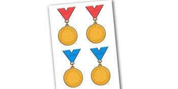 Editable Reward Medals