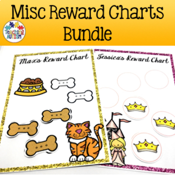 Editable Rewards Chart Bundle