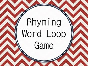 I have... Who Has... Rhyming Word Loop Game