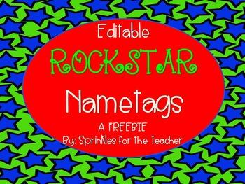 Editable Rockstar Nametags