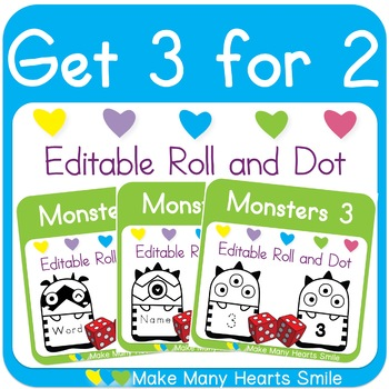Editable Roll and: Monsters