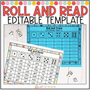 Editable Roll and Read Template
