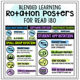 Editable Rotation Posters for Blended Learning (Read 180)