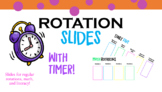 Editable Rotation Slides! WITH TIMER!