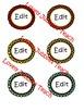 Editable Round Labels