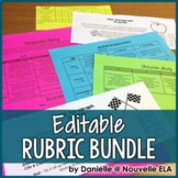 Editable Rubric Bundle