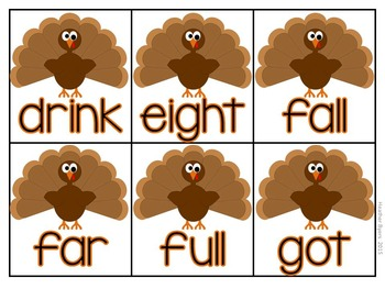 Editable Ruffle Some Feathers- sight word game