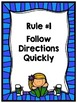 Editable Rules Posters