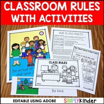 Clip Art Class Rules Teaching Resources Teachers Pay Teachers