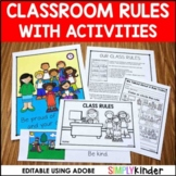 Rules, Editable Classroom Rules, Classroom Rules Activitie
