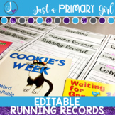Editable Running Records