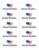 Editable S.S. Labels