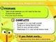 Editable SCHOOL Owl Themed Morning Work PowerPoint Templates