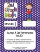 Editable SECOND Grade Math Engage New York Binder Covers - Purple Dots