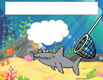EDITABLE SHARK THEMED POWERPOINT