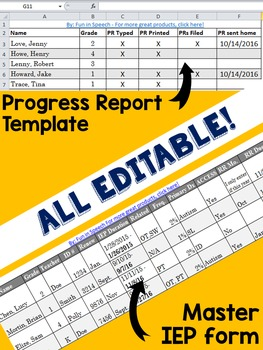 Editable SLP Templates to Keep You Organized - Great for Clinical Fellows (CF)