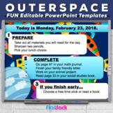 Editable SPACE PowerPoint Templates