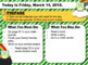 Editable ST. PATRICK'S DAY Owl Morning Work GOOGLE SLIDES Templates