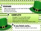 Editable ST. PATRICK'S DAY Themed Morning Work PowerPoint