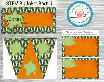Editable STEM Classroom Package