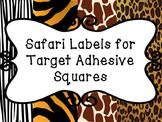 Blank Safari Themed Labels