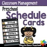 Preschool Schedule Cards