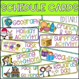 #ausbts18 Editable Schedule Cards