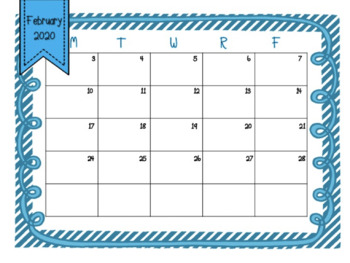 Editable Schedules and Calendars