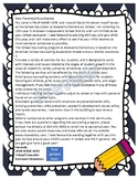 Editable School Counselor Informational Letter for Parents