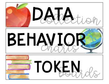Editable School Theme Drawer Labels