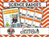 Editable Science Badges