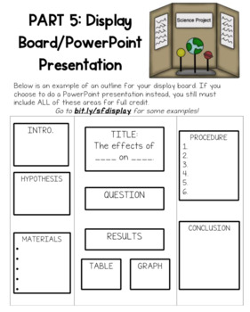 Editable Science Fair Step-by-Step Guideline Packet For Students