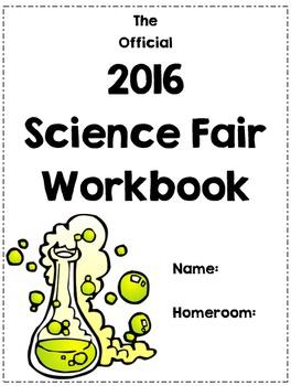 Editable Science Fair Workbook