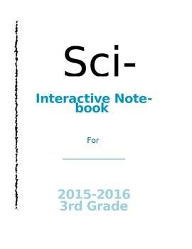 Editable Science Interactive Notebook