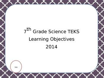 *Editable* Scientific Investigation and Reasoning Skills TEKS Middle School